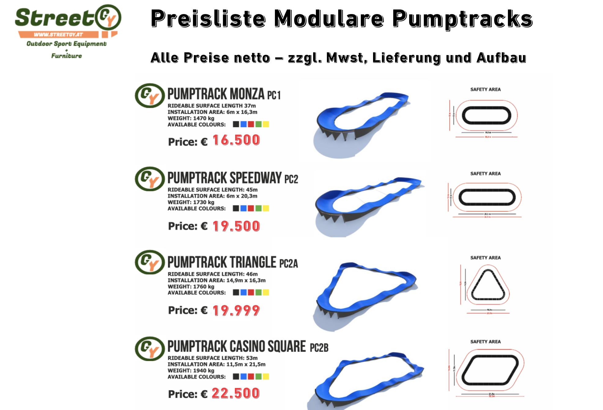 ❤️ Preisliste für Modulare Pumptracks. ❤️ ➡️ Hier finden Sie alle Informationen zu: Pumptrack Preis, Pumptrack kosten und Förderungen für Pumptracks Teil 1